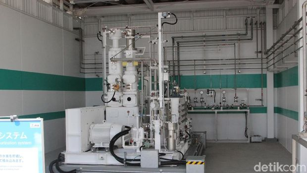 Proses kompresi hidrogen