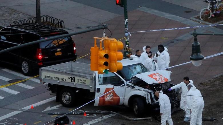 Ini Pikap yang Digunakan Dalam Teror di New York