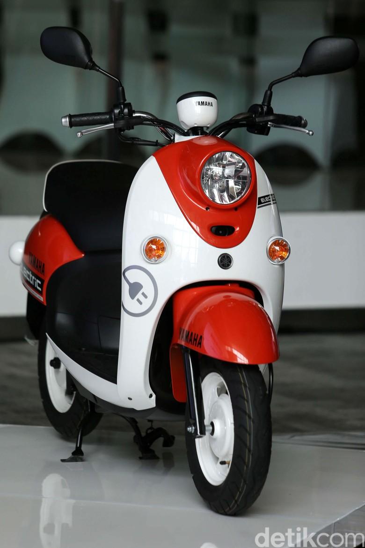 Motor Yamaha Listrik Foto: Agung Pambudhy