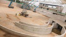 Terus Dikebut, Begini Penampakan Proyek Megah Velodrome