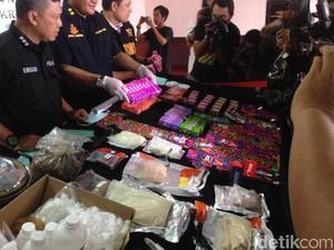 Polisi Bongkar Liquid Vape Mengandung Narkoba dari Belanda