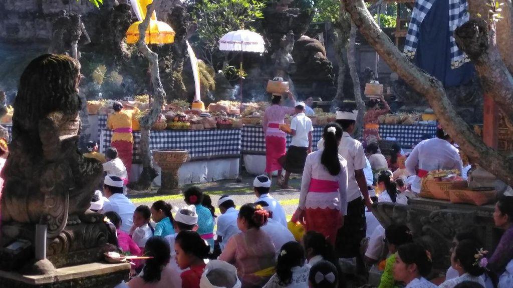 Video: Tradisi Hujan Uang, Wujud Rasa Syukur Warga Tabanan