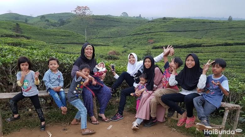 Farida Ningsih dan Anak-anaknya/ Foto: dok.HaiBunda