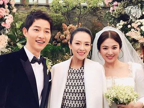 makeup pernikahan song hye kyo