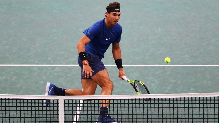 Rafael Nadal tetap jadi nomor satu dunia hingga akhir 2017 (Dean Mouhtaropoulos/Getty Images)