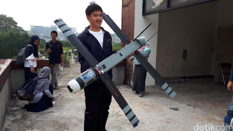 Pesawat Lipat Rancangan Mahasiswa ITB Bidik Industri dan Militer