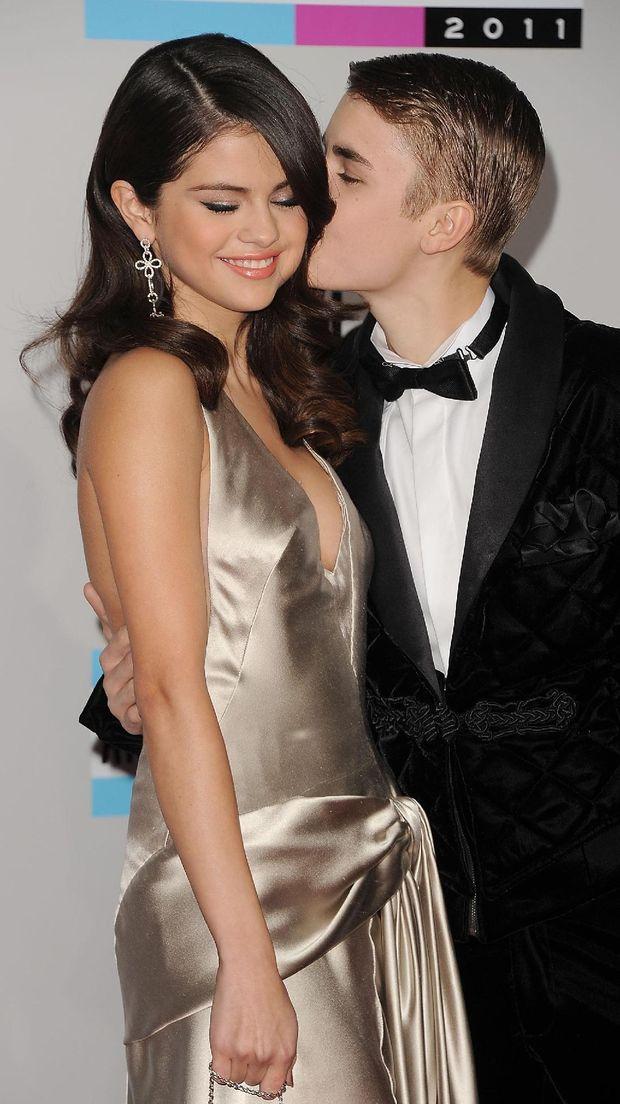 Justin Bieber dan sang mantan, Selena Gomez.