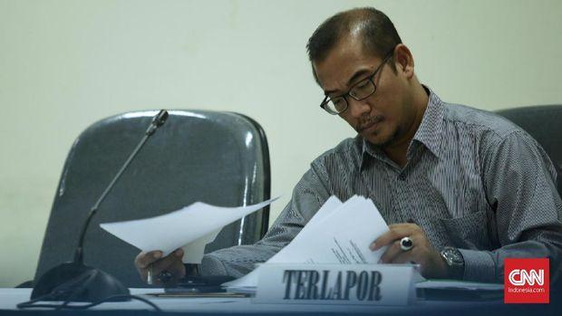 Komisioner KPU Hasyim Asy'ari.