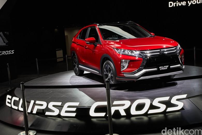 Mitsubishi Eclipse Cross yang bereinkarnasi menjadi crossover. Foto: Mitsubishi