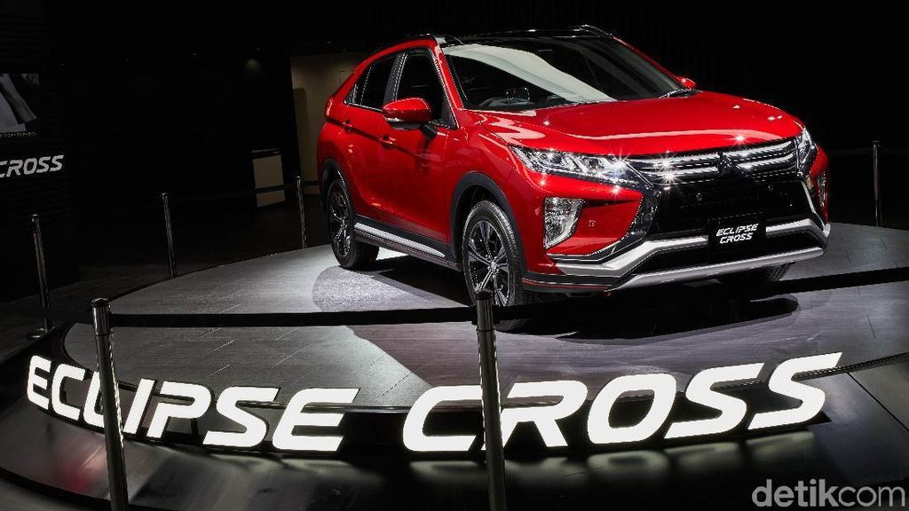 Mitsubishi Masih Pikir-pikir Bawa Eclispe Cross ke Indonesia