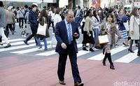 Orang Jepang yang terkenal dengan workaholic (Dikhy Sasra/detikcom)