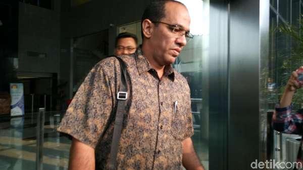 Diperiksa KPK, Ketua DPC Hanura Tegal Ditanya soal Bunda Sitha