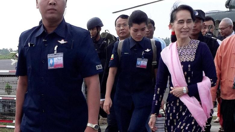 Kunjungi Rakhine, Suu Kyi Beri Pesan Khusus untuk Rohingya