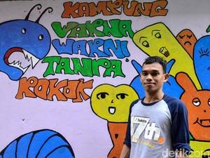 Keren! Kampung Warna-warni di Jakarta Ini Bebas Rokok