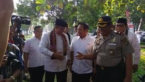 Anies Hadiri Temu Karya Sukarelawan PMI DKI di Cibubur