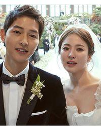 Song Joong Ki dan Song Hye Kyo yang pernikahannya kandas.