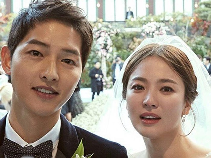 Song Joong Ki dan Song Hye Kyo. Foto: Instagram/allkdrama