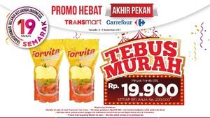 Tebus Murah Minyak Goreng di Promo Akhir Pekan Transmart Carrefour
