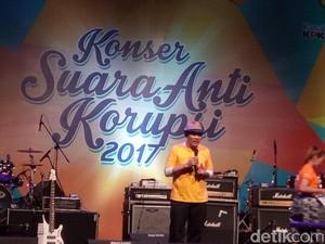 Pimpinan KPK: Antikorupsi Tidak Hanya Demo, Bisa dengan Lagu