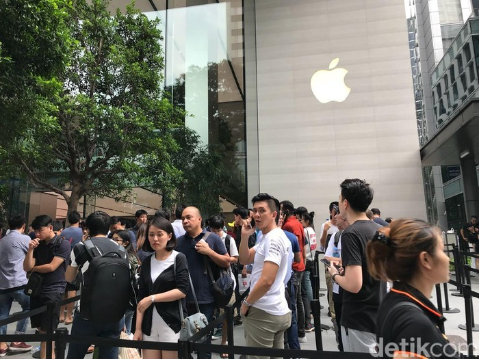 Apple Store di Singapura. Foto: detikINET/Adi Fida Rahman
