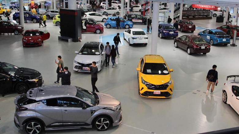 Toyota Foto: Rangga Rahadiansyah