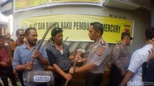 Warga Empat Kecamatan di Sukabumi Setop Mengolah Merkuri