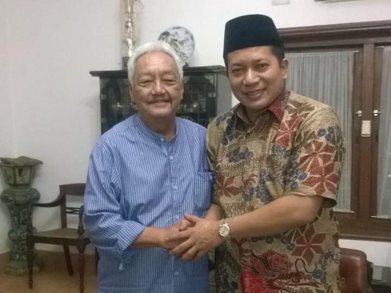 Ferry Juliantono Temui Tokoh PPP Jateng Mudrik Sangidu