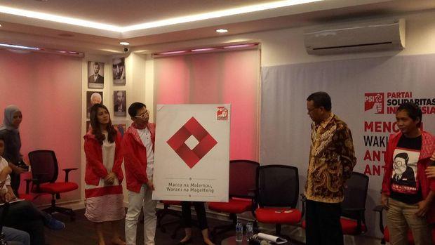 PSI Deklarasikan Dukungan ke Nurdin Abdullah di Pilgub Sulsel