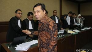 Jejak Novanto di KPK: Tersangka, Menang Praperadilan, Tersangka Lagi