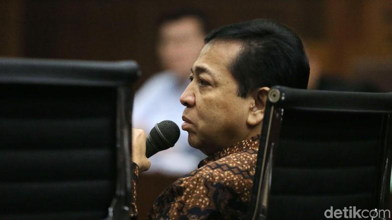 Beralasan Butuh Izin Presiden, Novanto Tak Penuhi Panggilan KPK