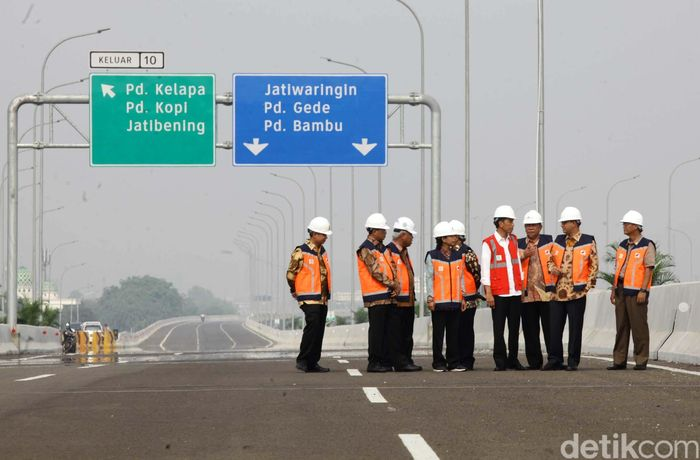 Ruas tol yang bakal beroperasi adalah seksi 1B dan 1C sepanjang 8,26 kilometer (km).