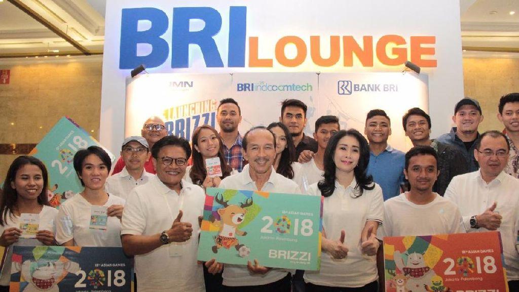 BRI Terbitkan Uang Elektronik BRIZZI Edisi Khusus Asian Games 2018