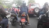 5 Sepeda Motor Berpelat Thailand di Bogor Terjaring Operasi Zebra
