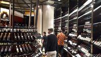 Ribuan wine terbaik dari beberapa negara.