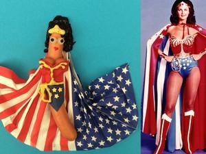 Lihat Uniknya <i>Hot Dog</i> Disulap Jadi Wonder Woman hingga Daft Punk