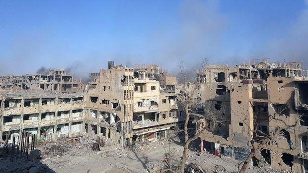 Situasi Deir el-Zor, Suriah.