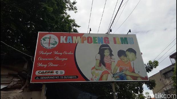Kampung Ilmu di Surabaya/