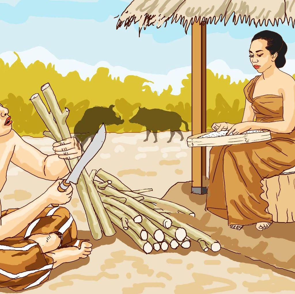 Emak Kinoli dan Seekor Babi