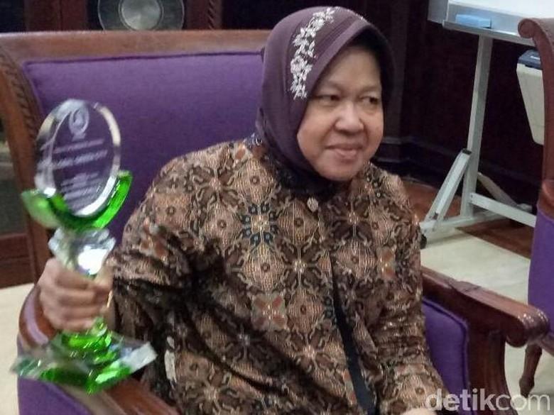 Ini Cerita Risma Saat Surabaya Dapat Penghargaan Global Green City