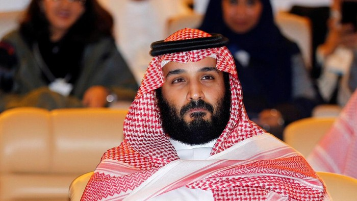 Saudi Crown Prince Mohammed bin Salman attends the Future Investment Initiative conference in Riyadh, Saudi Arabia October 24, 2017. REUTERS/Hamad I Mohammed