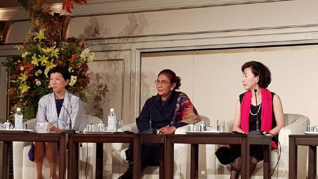 Di Jepang, Susi Bicara Soal Kesetaraan Hak Perempuan