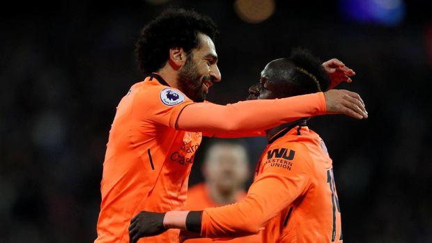 Mohamed Salah menjelma jadi bintang Liverpool musim ini.