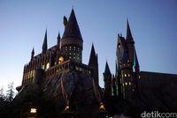 Kastil Hogwarts (Wahyu Setyo/detikcom)