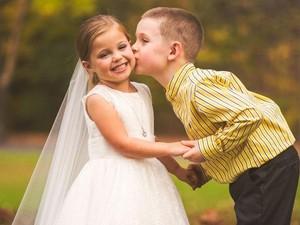 Kisah Mengharukan di Balik Foto Prewedding Anak 5 Tahun