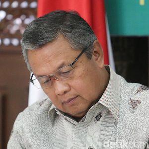 Momen Emosional Gubernur BI saat Bahas Corona dengan DPR