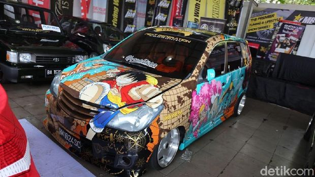 Salah satu mobil peserta Daihatsu Dress-Up Challenge
