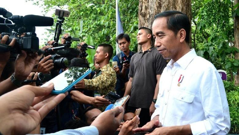 Soal TGPF Novel, Jokowi Masih Tunggu Kapolri Menghadap