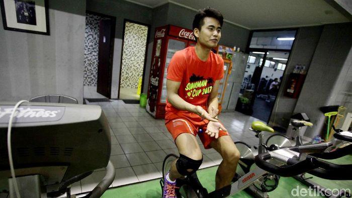 Tontowi Ahmad, pebulutangkis nasional ganda campuran (Hasan Alhabshy/detikSport)