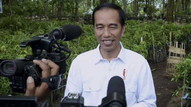Capres Jokowi kini punya aplikasi sendiri di iOS maupun Android.