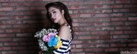 Nikita Willy saat pemotretan Celeb of The Month